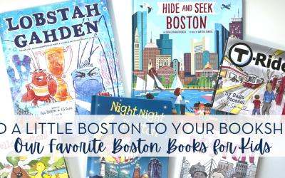 The Best BOSTON Books for Kids